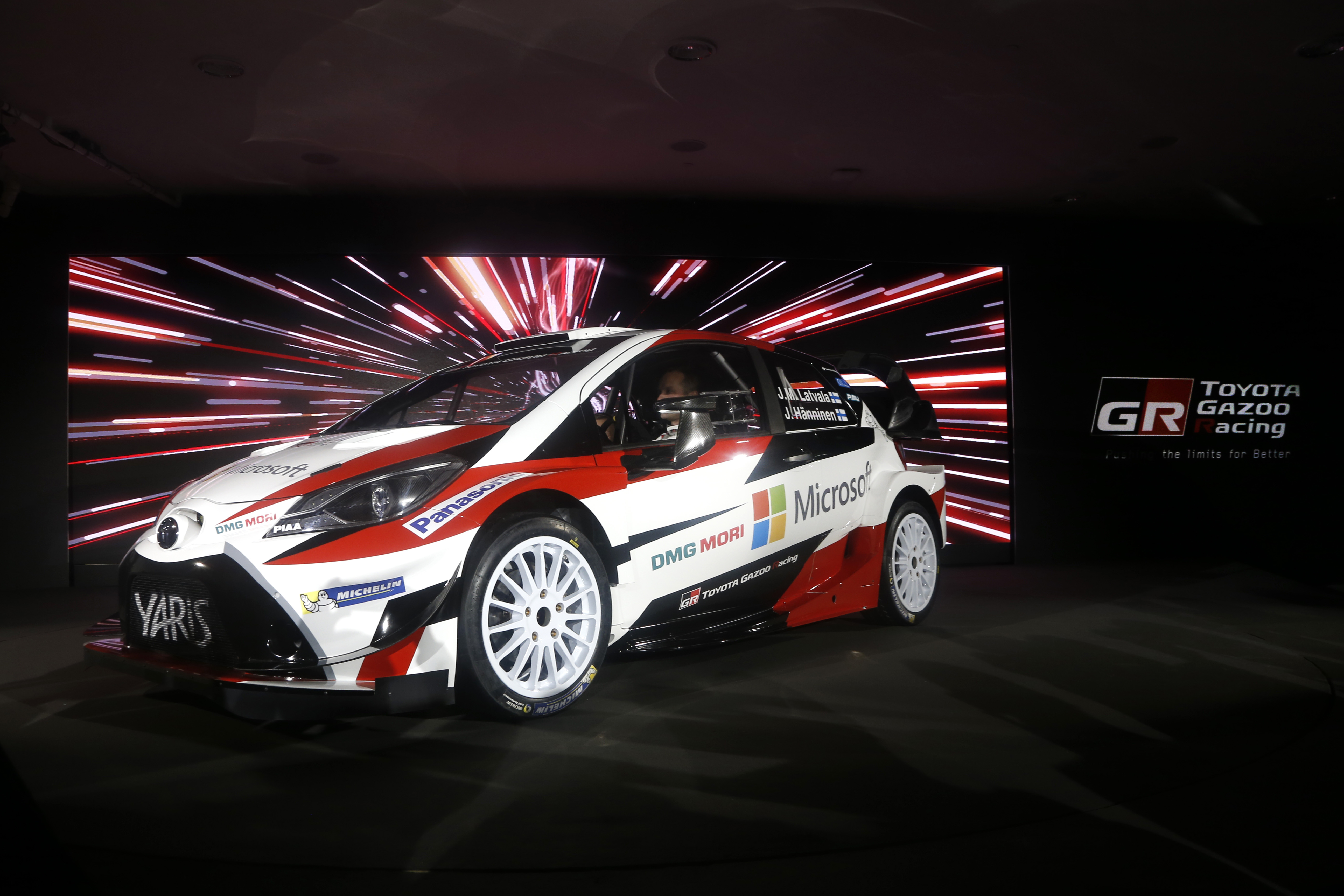 ToyotaGazooRacingWRC Official Presentation 13December 2017 – Helsinki